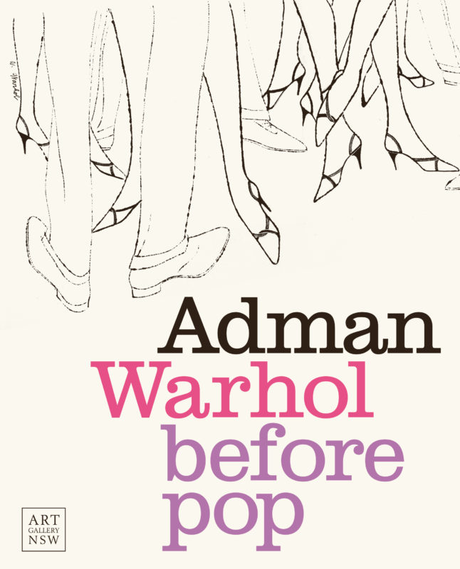Cover of the book Adman: Warhol before pop.