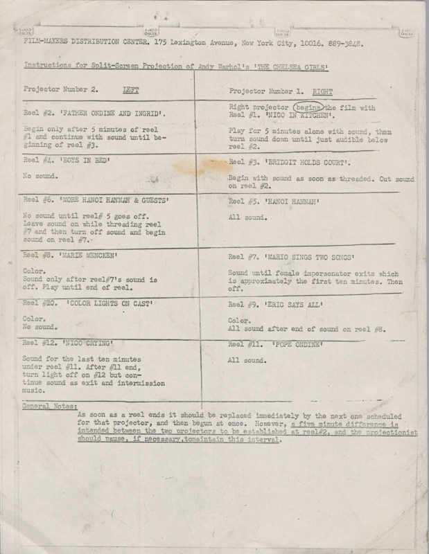 A piece of paper with instructions typed from a typewriter on it.